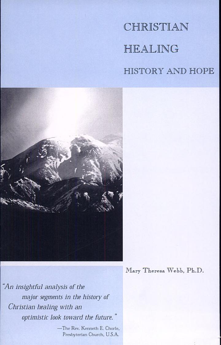 Christian Healing History and Hope