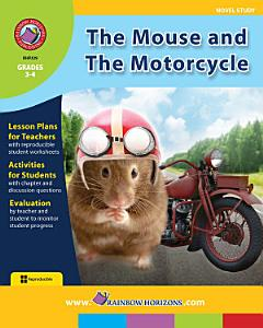 The Mouse and The Motorcycle  Novel Study  Gr  3 4 Book