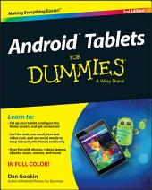 Android Tablets For Dummies: Edition 3