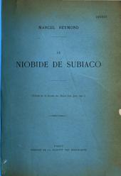 Le Niobide de Subiaco