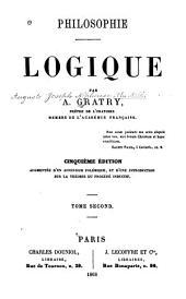 Philosophie: Logique: Volume2