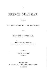 French Grammar     PDF