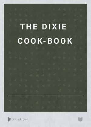 The Dixie Cook book