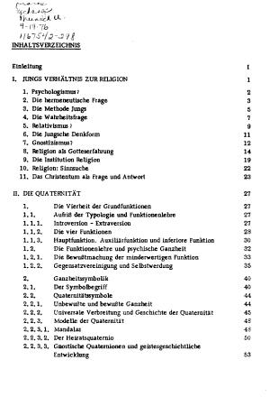 Die Quaternit  t bei C G  Jung PDF