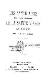 Les sanctuaires les plus célèbres de la Sainte Vierge en France
