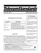 Telecom Standards Monthly Newletter December 2010