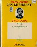 Guitar Works  Six nocturnes bibliques   op 3 PDF