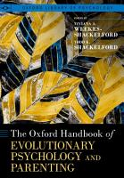 The Oxford Handbook of Evolutionary Psychology and Parenting PDF