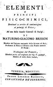 Elementi o principj fisico-chimici, tr., riveduta dal sig. F. Dupré