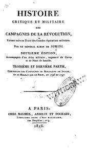 Traité des grandes opérations militaires, contenant l'histoire critique des campagnes de Frédéric II, comparées à celles de l'empereur Napoléon: avec un recueil des principes généraux de l'art de la guerre, Volume3