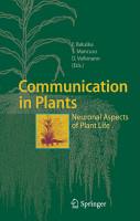 Communication in Plants PDF