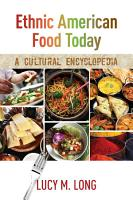 Ethnic American Food Today PDF