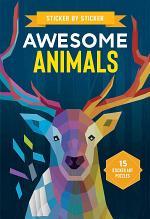 Sticker by Sticker: Awesome Animals