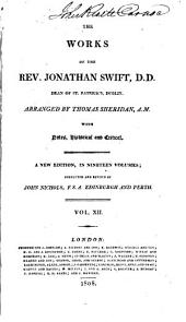 The works of the Rev. Jonathan Swift, D.D. ...: with notes, historical and critical