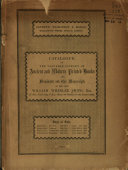 Catalogue of the Valuable Library of Ancient   Modern Printed Books    PDF