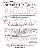 Geographiae sacrae pars prior, Phaleg, seu de Dispersione gentium et terrarum divisione facta in aedificatione turris Babel