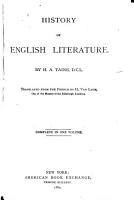 History of English Literature PDF