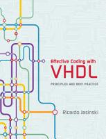 Effective Coding with VHDL PDF