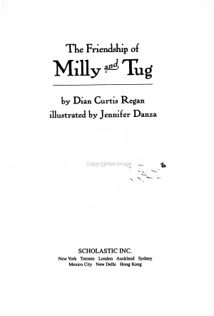 The Friendship of Milly and Tug PDF