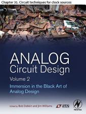 Analog Circuit Design Volume 2: Chapter 31. Circuit techniques for clock sources