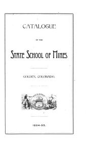 Biennial Report of the Colorado School of Mines