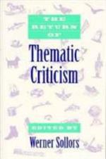 The Return of Thematic Criticism