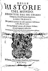 Delle Historie del mondo: 1580 - 1596