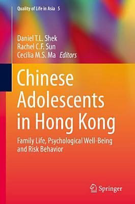 Chinese Adolescents in Hong Kong PDF