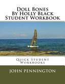 Doll Bones by Holly Black Student Workbook PDF