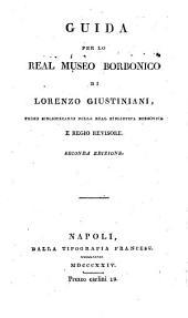 Guida per lo Real museo Borbonico, di L. Giustiniani e del cav. F. de Licteriis
