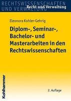 Diplom   Seminar   Bachelor  und Masterarbeiten in den Rechtswissenschaften PDF
