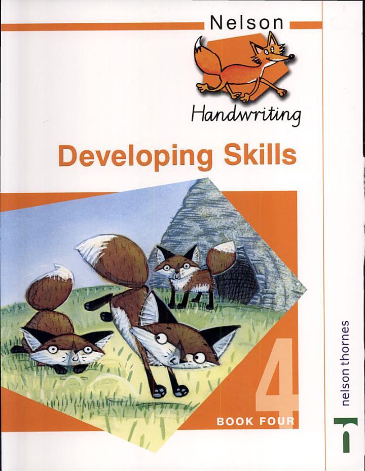 Nelson Handwriting Developing Skills Book