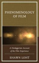Phenomenology of Film Book