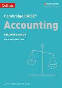Cambridge IGCSE   Accounting PDF