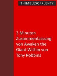 3 Minuten Zusammenfassung von Awaken the Giant Within von Tony Robbins PDF