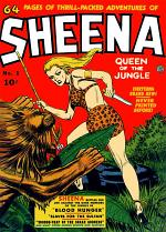 Sheena Queen of the Jungle, Number 1, Blood Hunger
