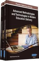 Advanced Methodologies and Technologies in Modern Education Delivery PDF