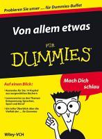 Von allem etwas f  r Dummies   Auszuge aus 14 ebooks f  r Dummies PDF