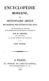 Encyclopédie moderne, ou, Dictionnaire abrégé des sciences, des lettres et des arts: avec l'indication des ouvrages ou les divers sujets sont développés et approfondis, Volume16