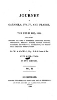 A Journey in Carniola  Italy  And France  In The Years 1817  1818 PDF
