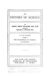 A History of Science: Book 1