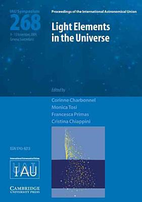 Light Elements in the Universe  IAU S268  PDF