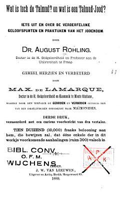 Wat is toch de Talmud  En wat is een Talmud Jood  PDF