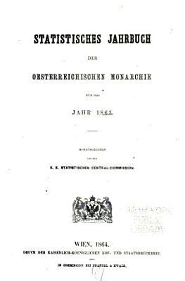 Statistisches Jahrbuch PDF