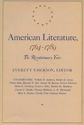 American Literature, 1764-1789