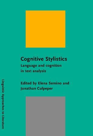 Cognitive Stylistics PDF