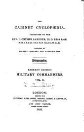 Eminent British Military Commanders ...: John, Duke of Marlborough (cont'd); Charles Mordaunt, Earl of Peterborough; Major-General James Wolfe