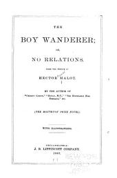 The Boy Wanderer Or, No Relations