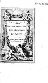 Nouvelle traduction des Héroïdes d'Ovide