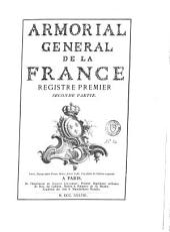 Armorial général de la France: Volumes1à2